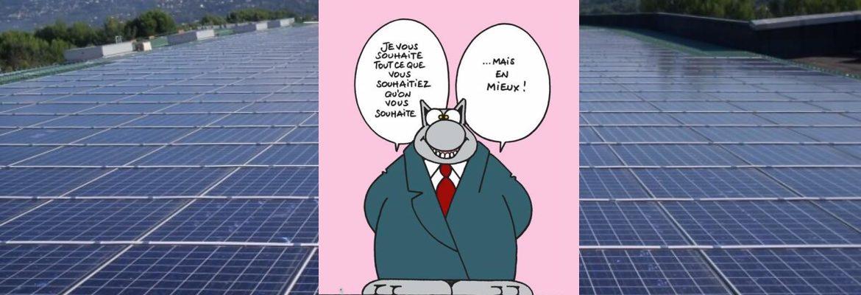 Bonne année solaire photovoltaïque 2019!