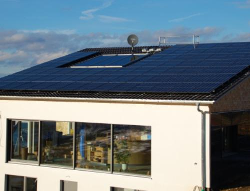 Une maison familiale 100% autonome en électricité!