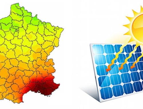 Potentiel solaire de la France